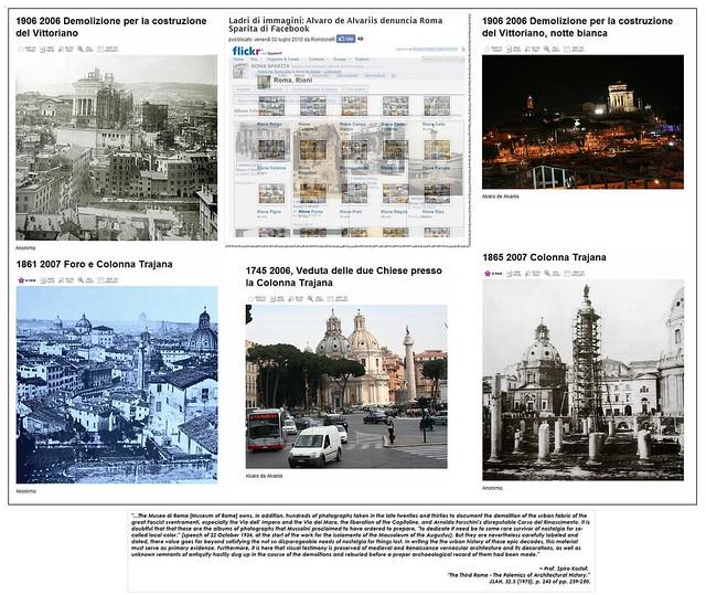 """""""Ladri di immagini: Alvaro de Alvariis denuncia Roma Sparita di Facebook."""" (02/07/2010). 06blog /Blogo.it / il Tribunale di Milano © 2004-2010. [Part I]."""