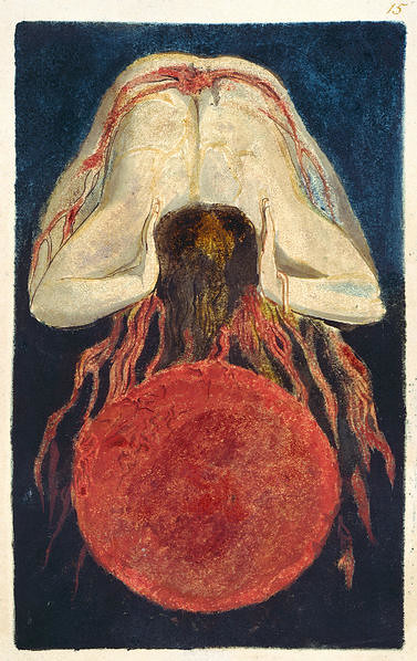 The First Book of Urizen, copy D, by William Blake 1794