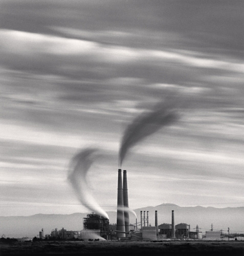 Moss Landing Power Station, Study 2, by Michael Kenna 1987