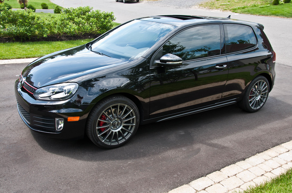 my black gti with oz and r led tails vw gti mkvi forum vw golf r forum vw golf mkvi forum. Black Bedroom Furniture Sets. Home Design Ideas