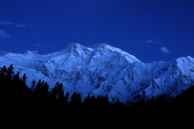 Nanga Parbat after sunset- EXPLORED