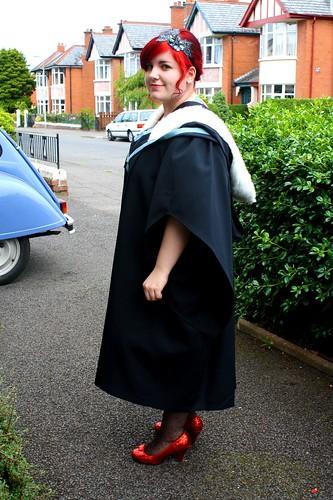 I'm a graduate!