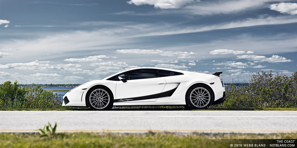 White 2008 Lamborghini Gallardo Superleggera - 22 images