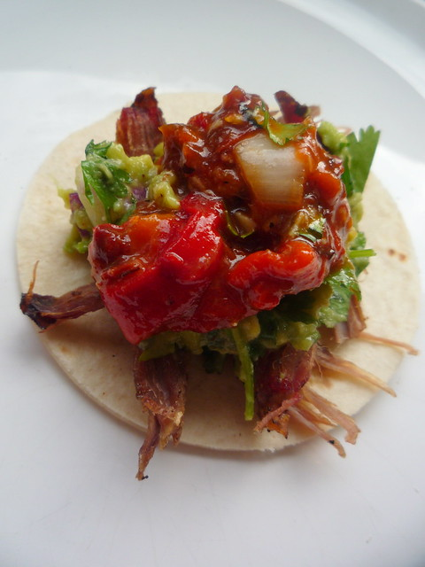 BBQ Smoked Beef Brisket Tacos | this recipe and more availab ...