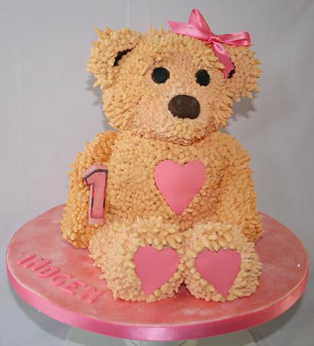 Teddy Bear Birthday Cakes Cake Ideas and Designs