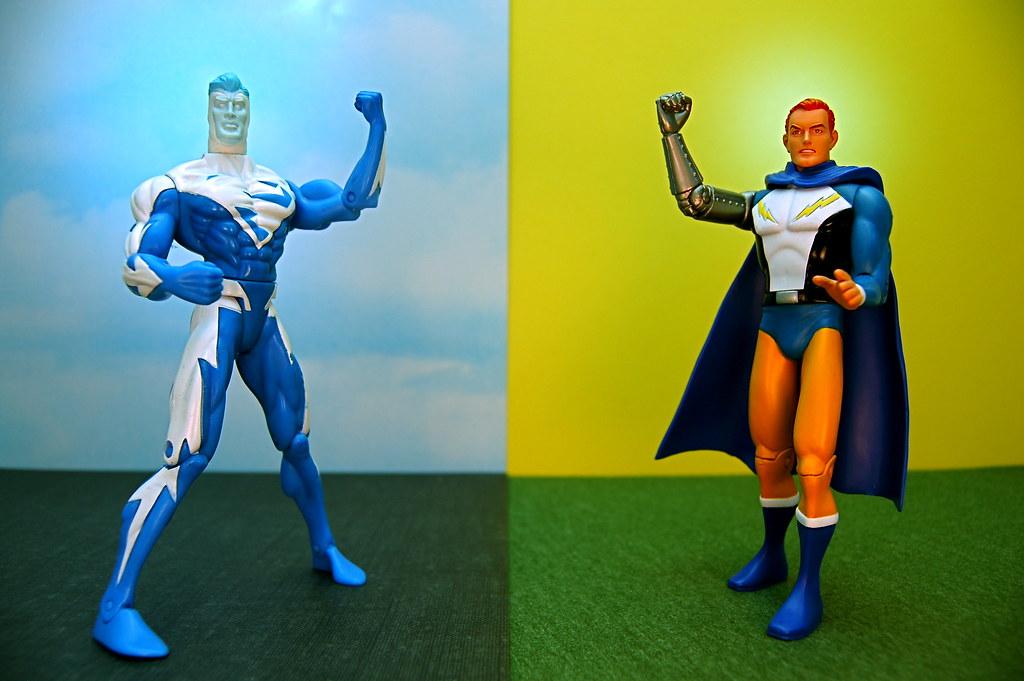 Superman vs. Lightning Lad (190/365)