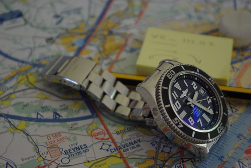 Plan de vol - Breitling Superocean