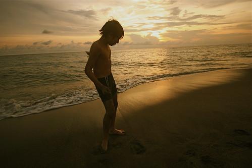 travel sunset sea vacation sky beach nature water canon sand philippines canoneos20d zambales uwa sigma1020mm crystalbeach sannarciso