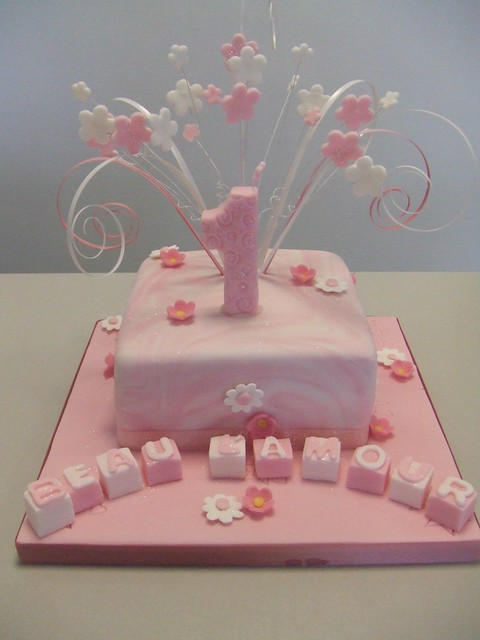 Cake 1st Birthday This Is For A Little Girl Called