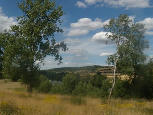 View near Culham Court.