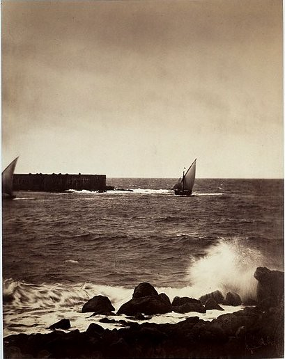 The Breaking Wave – Mediterranean Sea, by Gustave Le Gray 1857