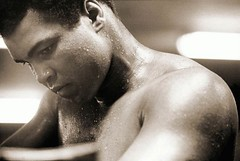 Muhammad Ali - In the Corner, by Michael Gaffney 1978