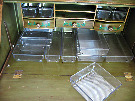 Clear Plastic Drawer Organizers Lucite Drawer Organizers