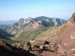 Vallon de Tula et refuge de Ciottulu di I Mori