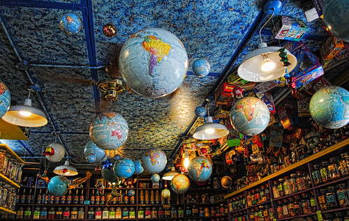 Ceiling of the Kensington Candy Store