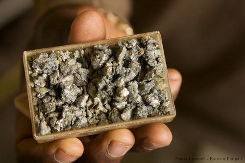 錫礦石,來源:Enough Project