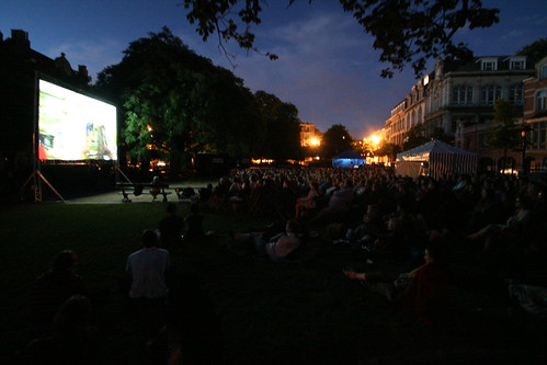 Plein open air cinema