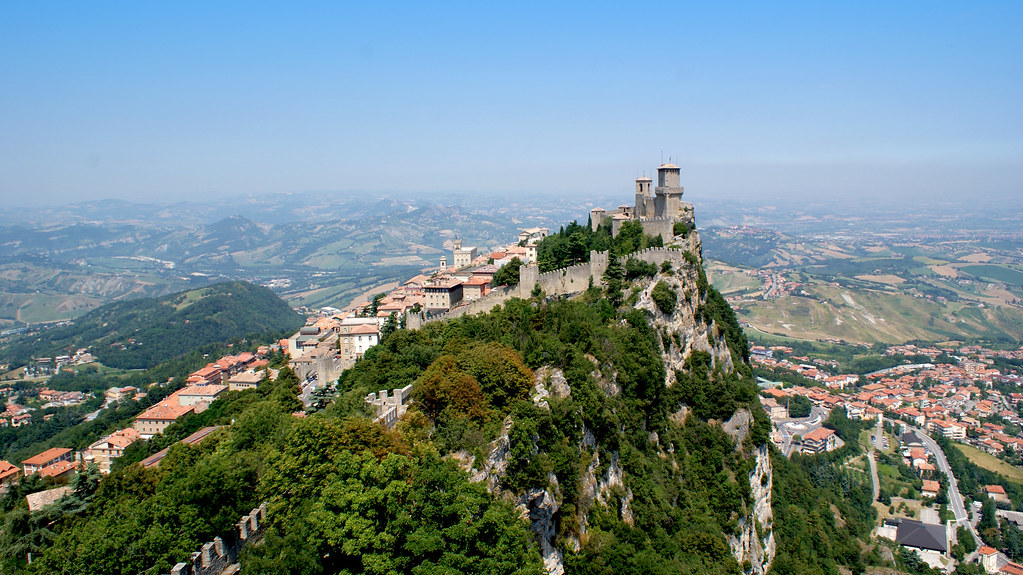 The Guaita, San Marino, panorama