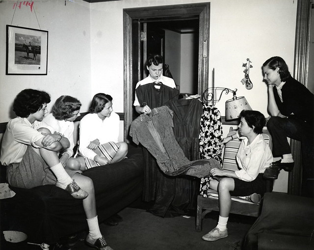 1951 Students Select Dress
