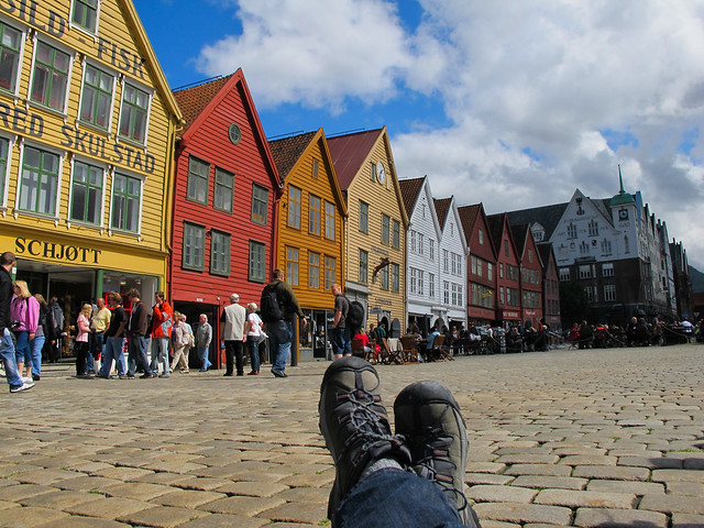 Bergen - The Old Warehouse District