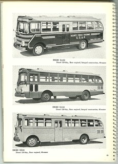 1959 Japanese Buses