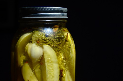 Pickle jar picture by Flickr user sleepyneko