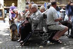 A Market Day in Vevey, Vaud, Switzerland