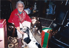 Mamaw and HER doggies