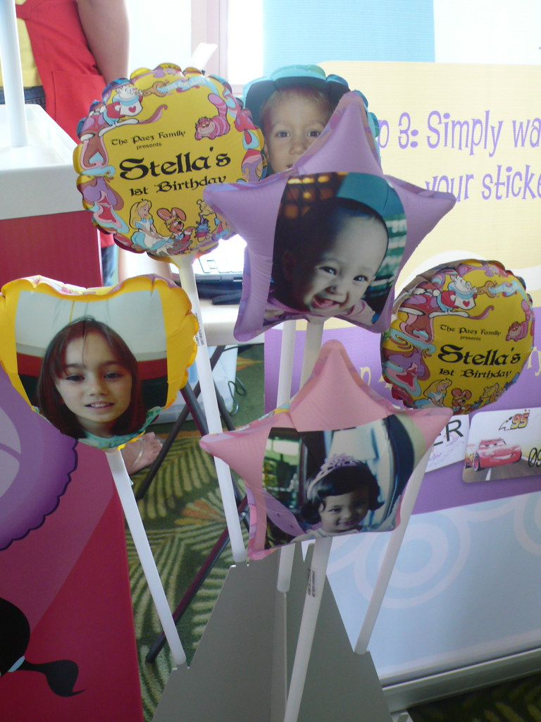Each kid got a Photo Balloon