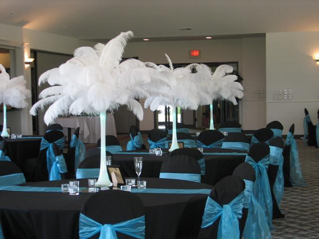 Similiar Black And Teal Wedding Decorations Keywords