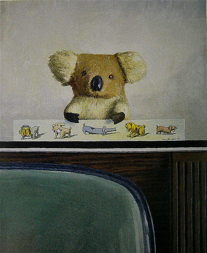 Franco Matticchio - Koala on the television (with five dogs)