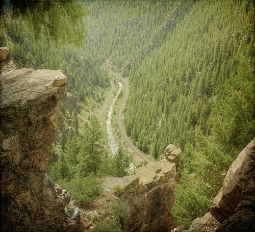 trees forest canon river colorado rocks afternoon cliffs rapids valley hdr railroadtracks ontheedge t1i