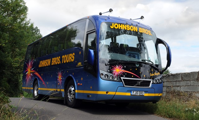 Volvo B7R Sunsundegui Sideral Johnson Bros Tours of Worksop Nottinghamshire