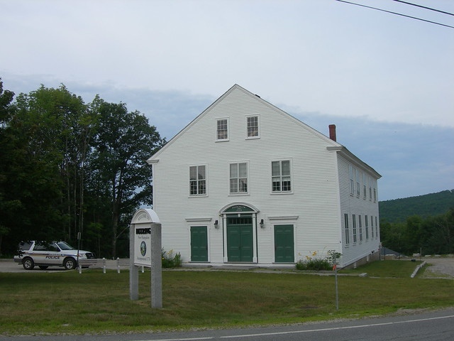 Deering New Hampshire Town Hall