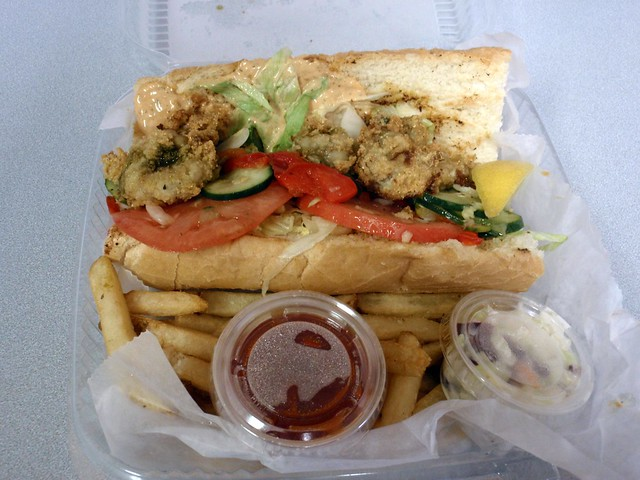 Fried Oyster Po Boy | Flickr - Photo Sharing!