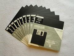 10 floppies