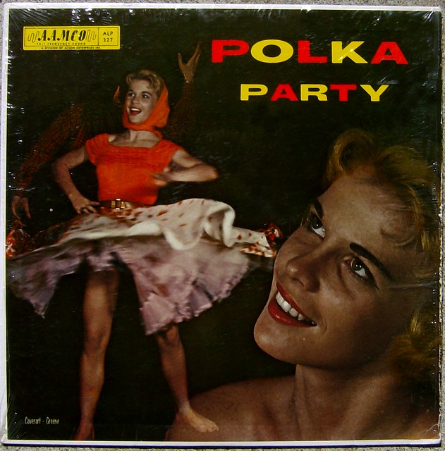Frankie Paul And The International Polka Band - Polka Party album cover