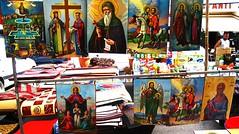 Markt in Mires - Bazaar in Mires