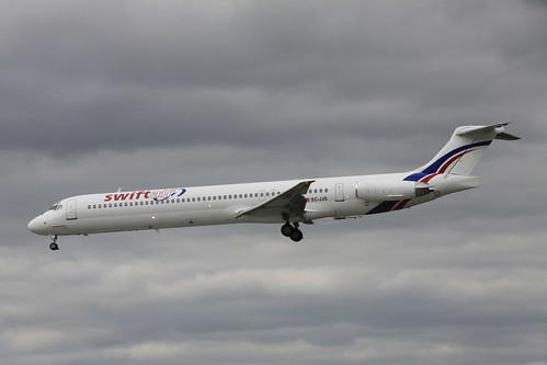 EC-JJS Swift Air MD83