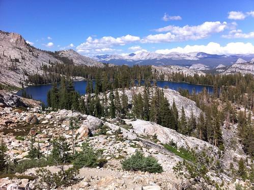 Lake May from the slopes of Mt. Hoffman, Yosemite National Park, California. Courtesy of David McCracken