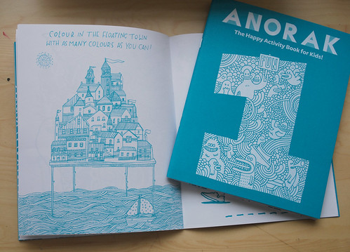 Anorak Activity Book!