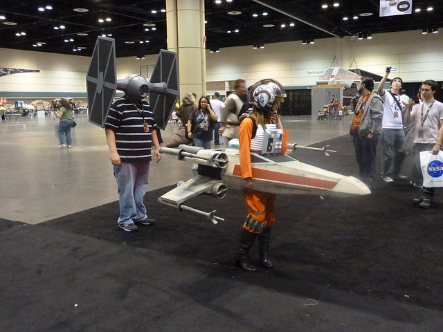 star wars x-wing girl  1
