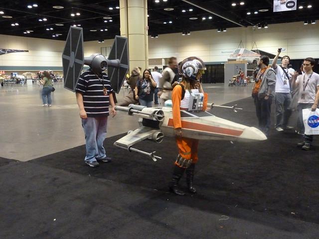 star wars x-wing girl  1