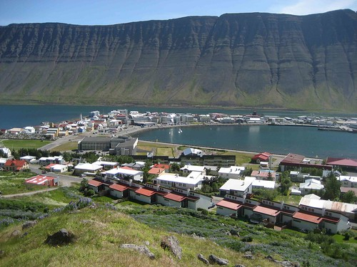 View of Isafjordur