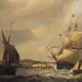Ship of the Line by George Webster 1797-1832 oil on canvas