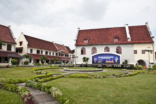 Central Courtyard of Fort Rotterdam
