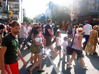 Vancouver Zombiewalk | Robson Street