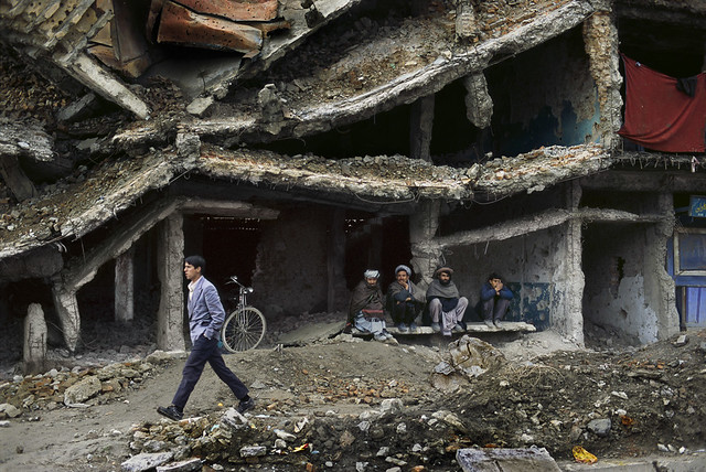War refugees in Kabul, Afghanistan, by Steve McCurry 2002