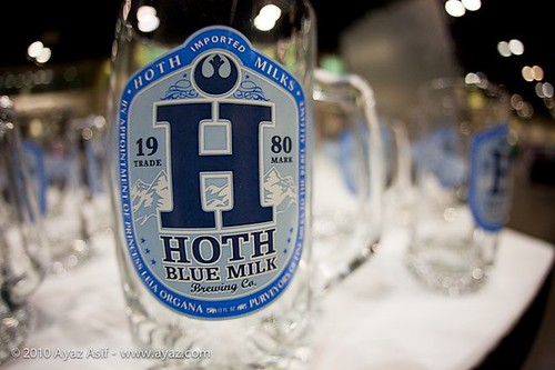 Hoth Blue Milk Stein