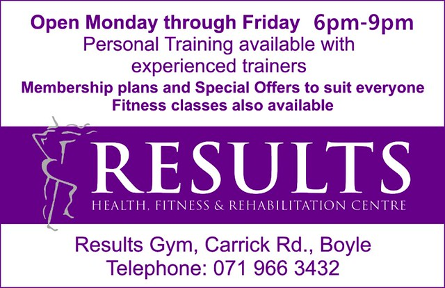 Results Gym, Boyle